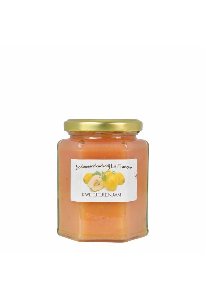 Bosbessenkwekerij La Française Kweeperen jam (50 gram, 135 gram of 325 gram)