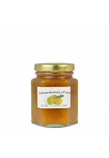 Bosbessenkwekerij La Française Reine claude jam (50 gram, 135 gram of 325 gram)