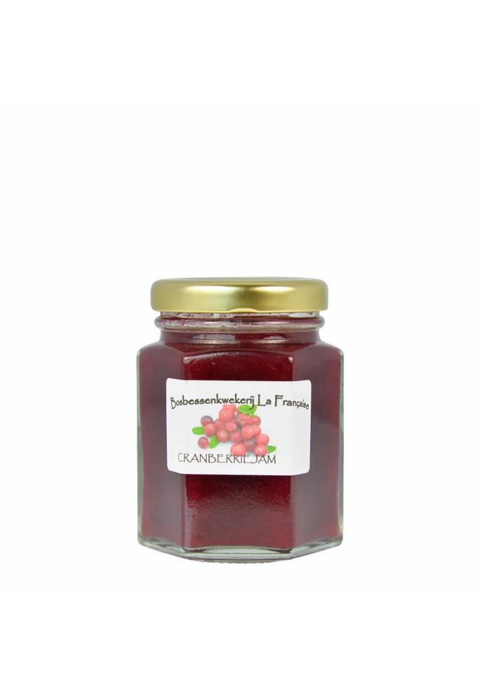 Bosbessenkwekerij La Française Cranberrie jam La Française (50 gram, 135 gram of 325 gram)
