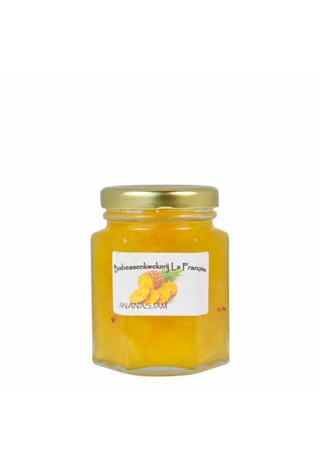 Bosbessenkwekerij La Française Ananas jam (50 gram, 135 gram of 325 gram)