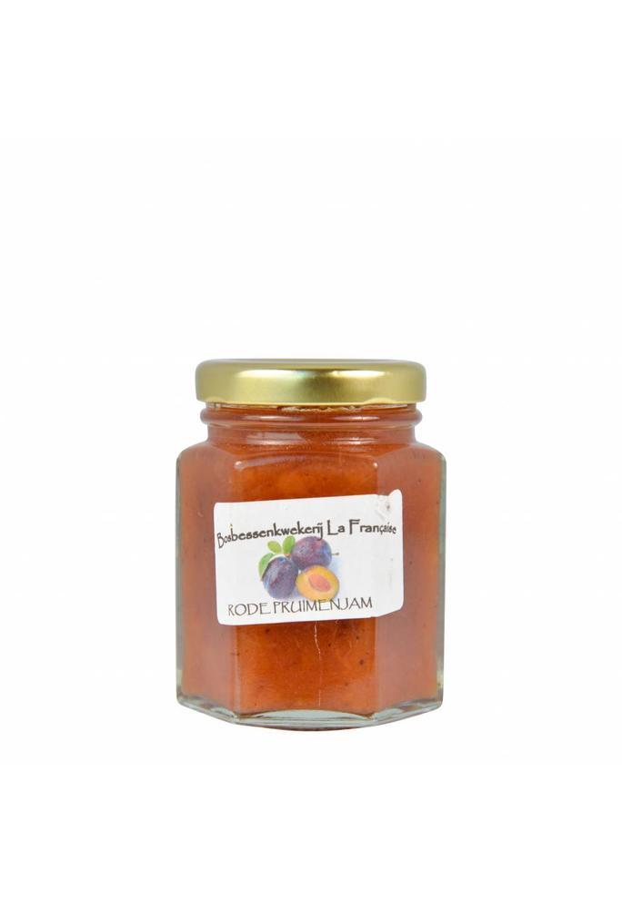 Bosbessenkwekerij La Française Rode pruimen jam (50 gram, 135 gram of 325 gram)