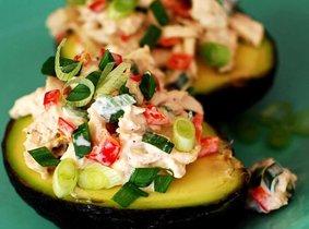 salade van avocado & tonijn