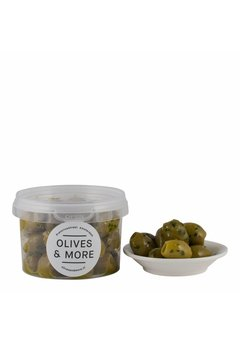 Olives & More Olijven knoflook/ peterselie, 150g