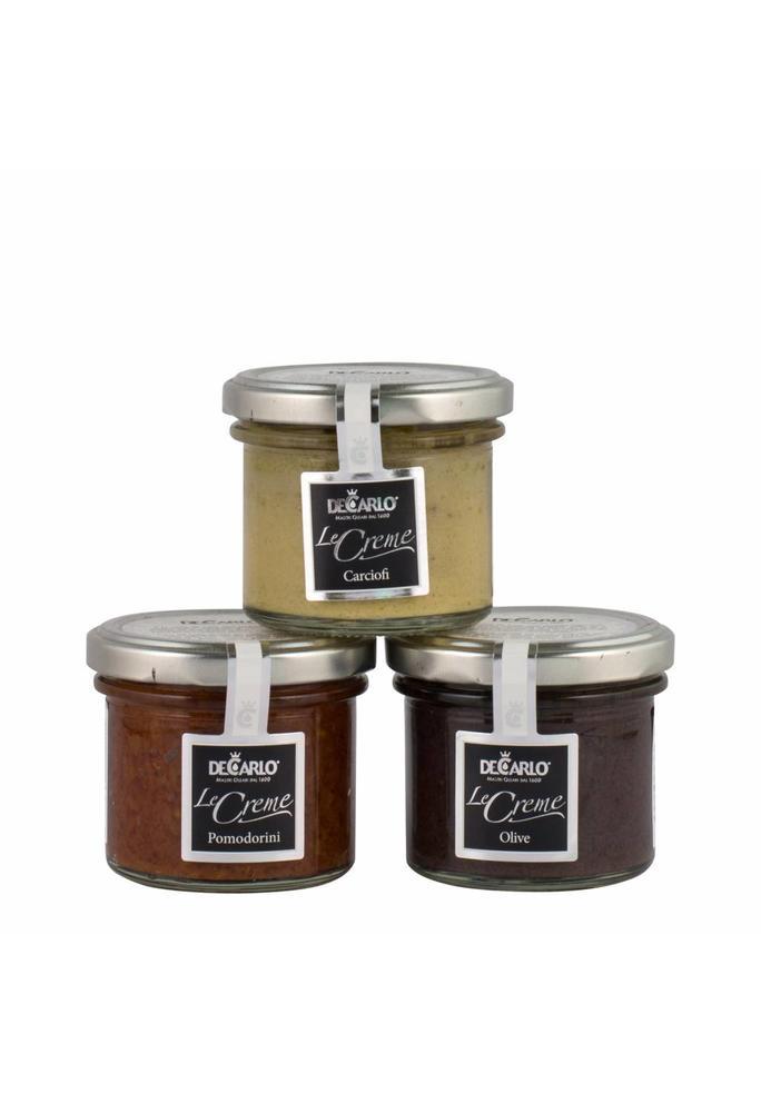 Olives & More De Carlo Tapenades (3 soorten), 100 g per potje