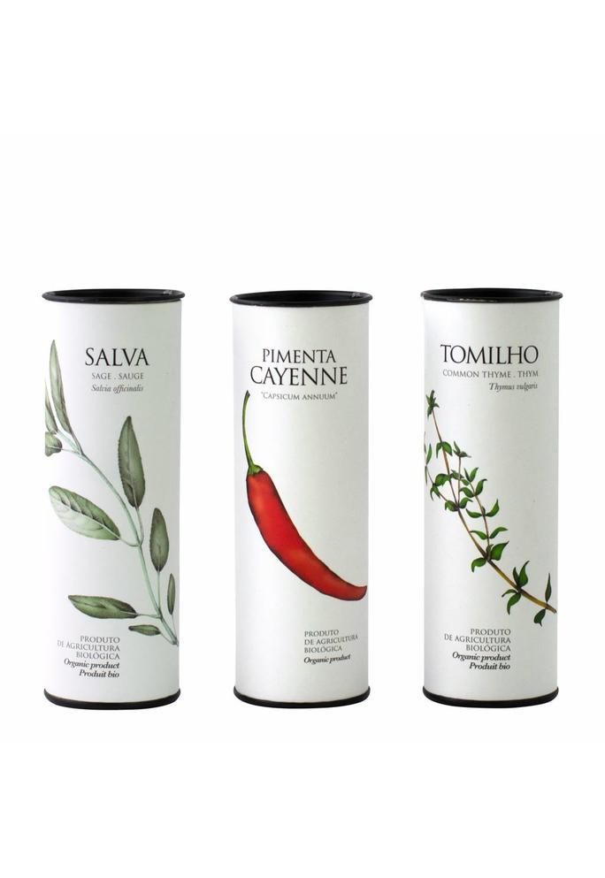 Olives & More Selectie van 3 biologische gedroogde kruiden / Portugal (3x20 gram)
