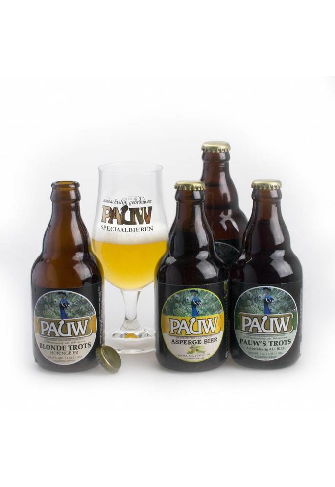 Verslokaal De Buurman Bierpakket met bierglas De Buurman