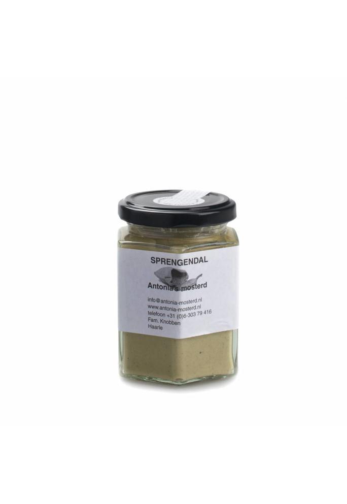 Verslokaal De Buurman Sprengendal mosterd Antonia's mosterd 200g