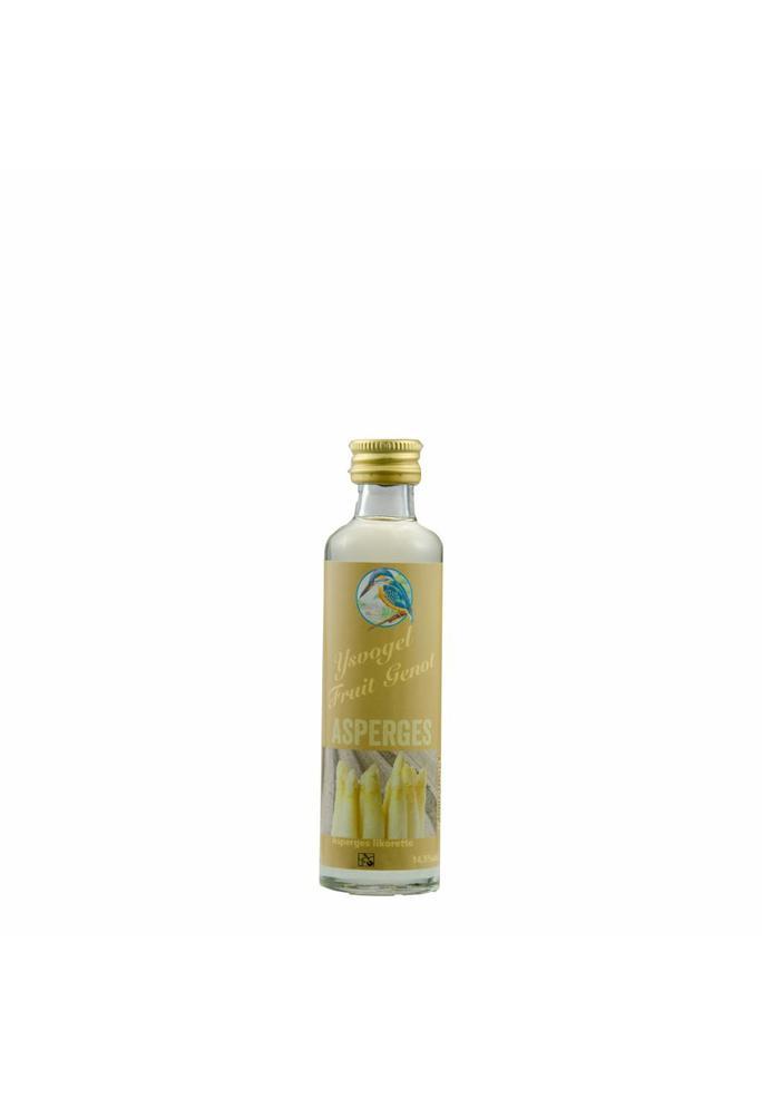 Graanbranderij De IJsvogel Fruit Genot asperge likorette De IJsvogel 40 ml