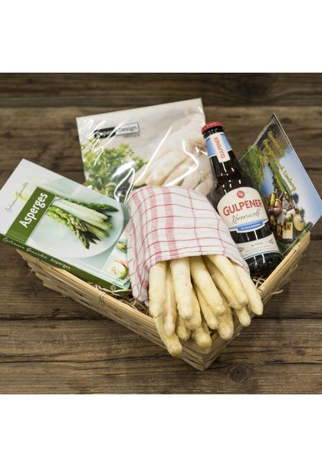 Bourgondisch Limburg Verwenpakket: 1 kilo dagverse AA1 asperges & witbier