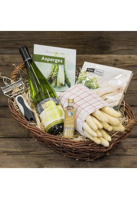 Bourgondisch Limburg Verwenpakket: 1 kilo dagverse AA1 asperges, likorette van asperges & wijn van eigen bodem