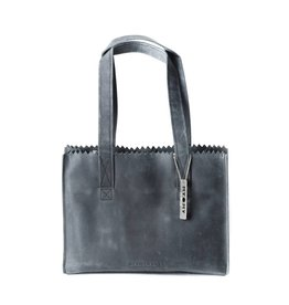 MYOMY MY PAPER BAG Handbag Off Black