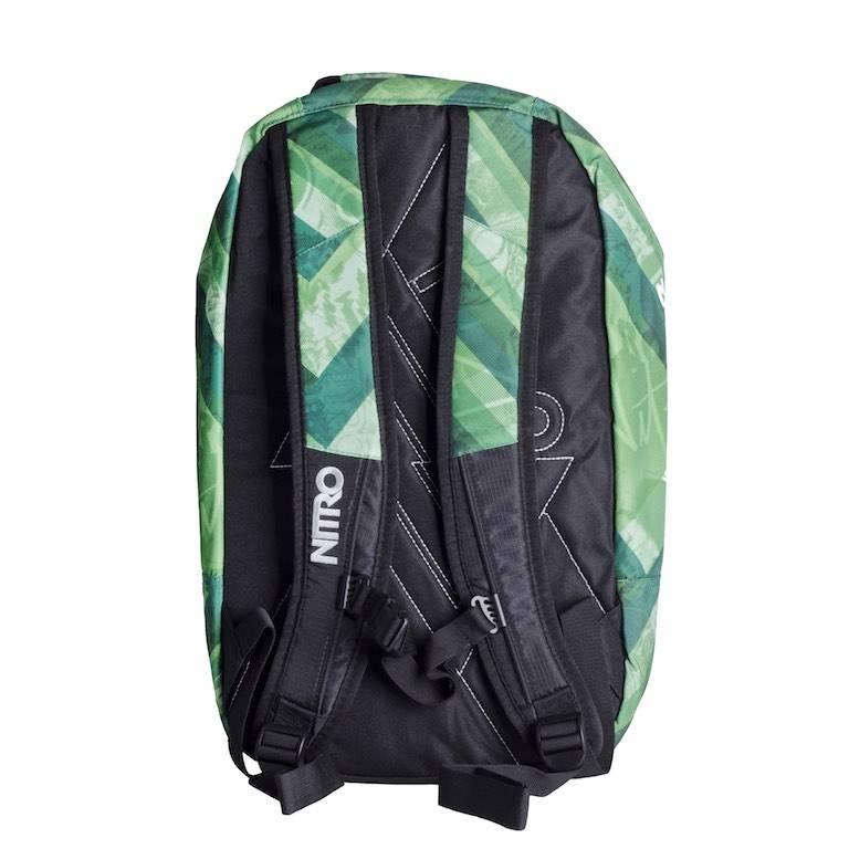 Nitro Nitro Backpack Axis Wicked Green