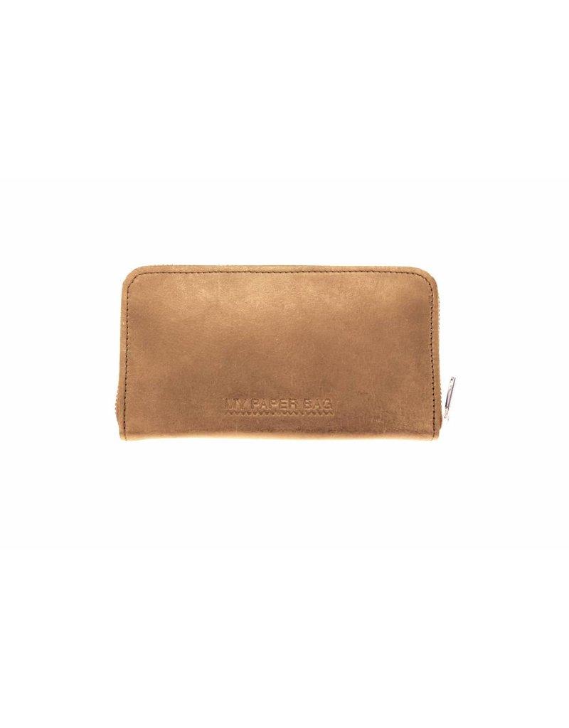 MYOMY MY PAPER BAG Wallet Large Blond