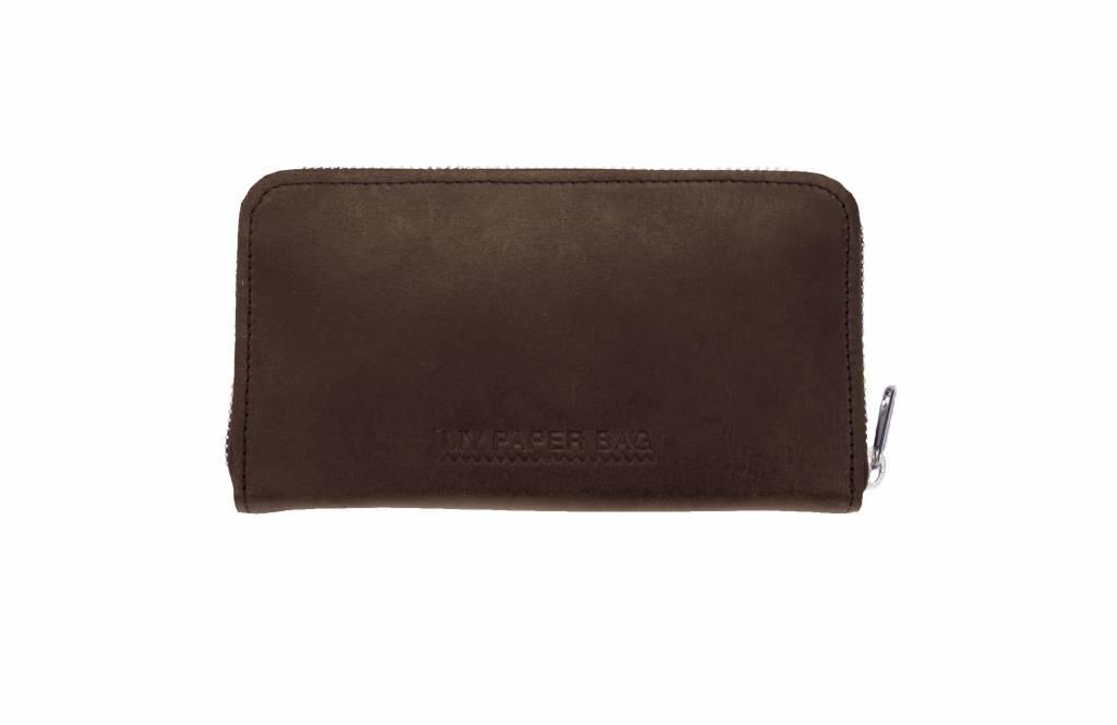 MYOMY MY PAPER BAG Wallet Large Dark Chocolate