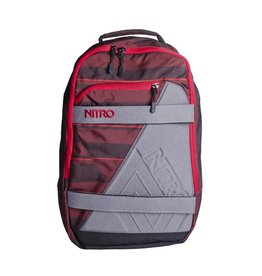 Nitro Nitro Backpack Axis Red Stripes