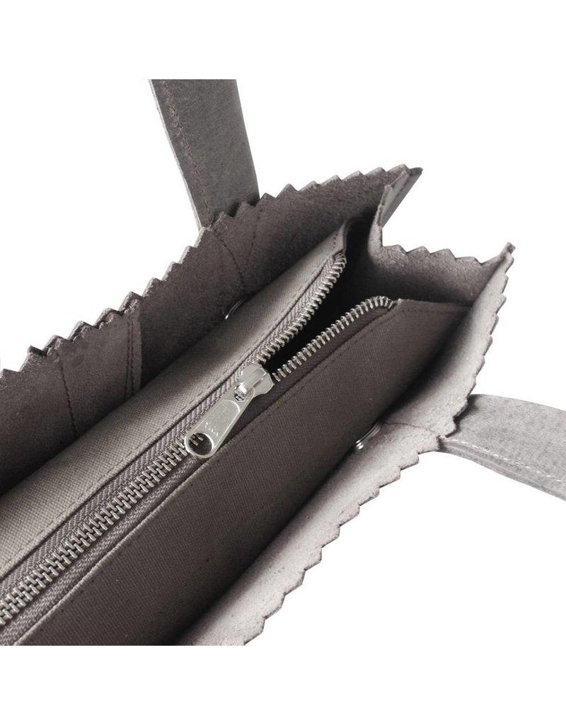 MYOMY MY PAPER BAG Handbag Off Black