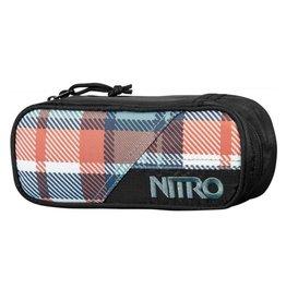 Nitro Nitro Pencil Case Meltwater Plaid