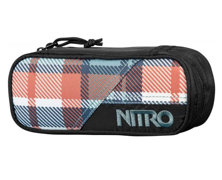 Nitro Nitro Pencil Case Meltwater Plaid