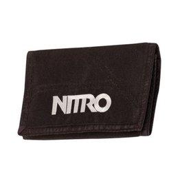Nitro Nitro Wallet Black Portemonnee