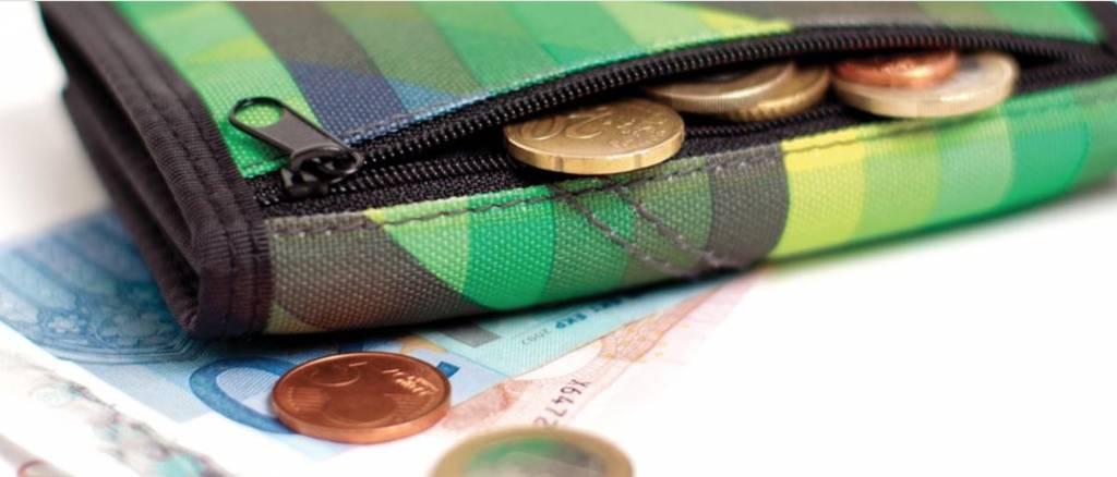 Nitro Nitro Wallet Plaid Red-Blue Portemonnee