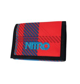Nitro Nitro Wallet Plaid Red-Blue Portemonnee