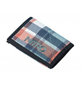 Nitro Nitro Wallet Meltwater PLaid Portemonnee