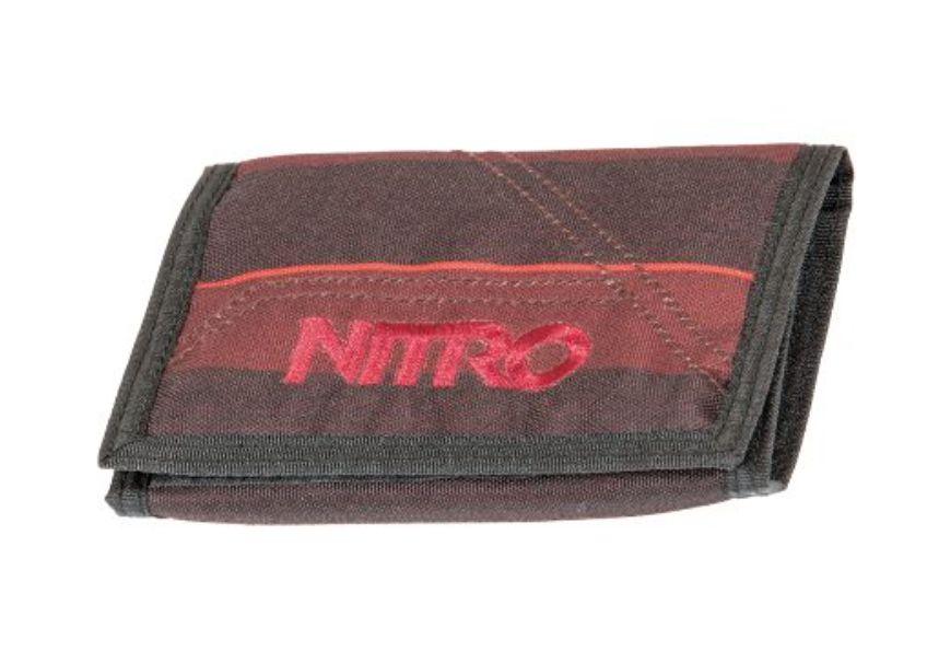 Nitro Nitro Wallet Red Stripes Portemonnee