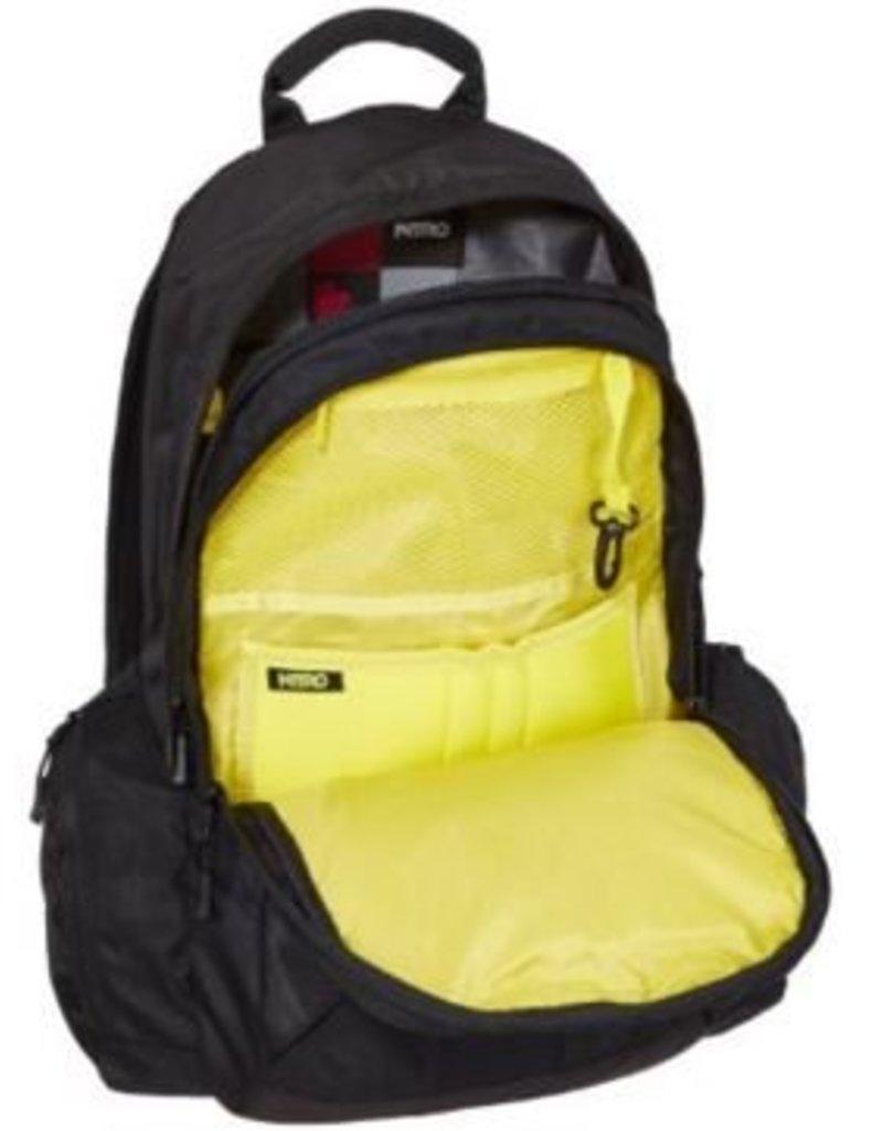 Nitro Nitro Backpack Zoom Black
