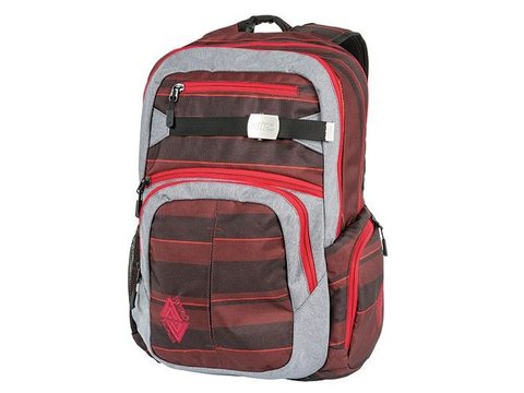Nitro Nitro Backpack Hero Red Stripes