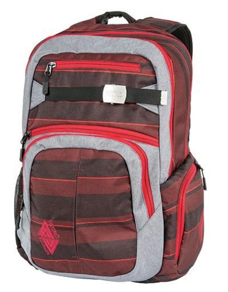 Nitro Nitro Backpack Hero Red Stripes