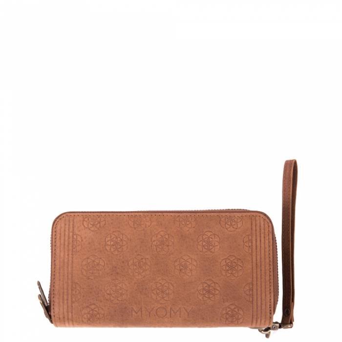 MYOMY MY CLASSIC BAG Flower of Life Double Wallet Original