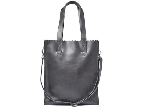 MYOMY MY PAPER BAG Deluxe office - off-black