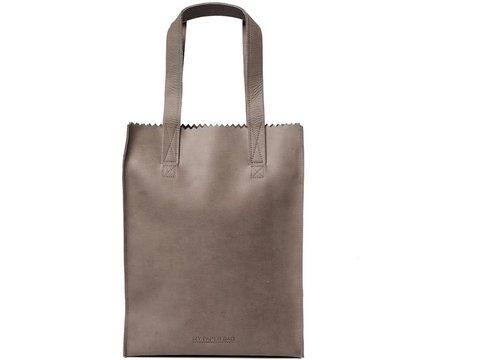MYOMY MY PAPER BAG Long handle zip - taupe