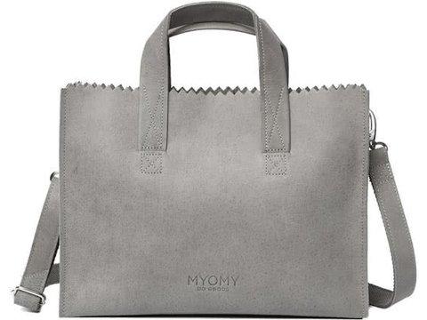MYOMY MY PAPER BAG Handbag cross-body - elephant grey