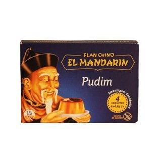 Pudim Flan Mandarin
