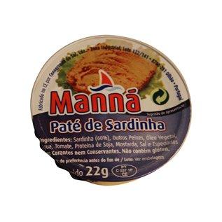 Paté met Sardientjes 22 gram