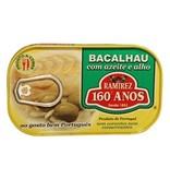 Bacalhau in olijfolie en knoflook