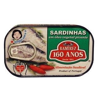 Sardines in piri-piri saus