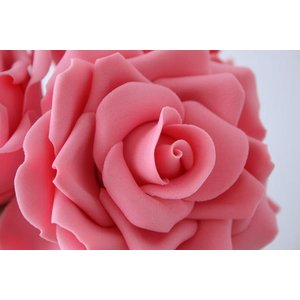 Cutter, Petal, set 4 pieces, 4,5 cm, 3,5 cm, 6 cm, 4 cm