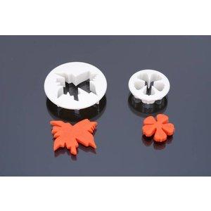 Ausstecher, Meabow cranesbill, serie 2 stück , 3 cm, 5 cm