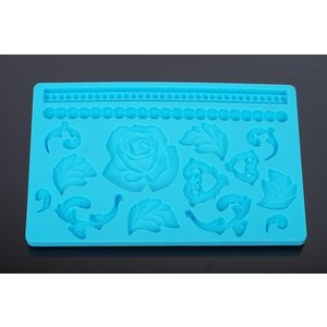 Silicone Mold - Rose 20x12,5cm