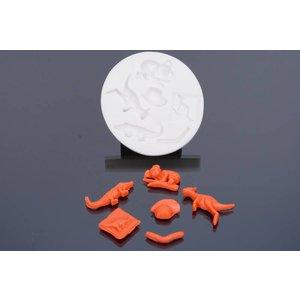 Silicone Mold - Australia 8cm
