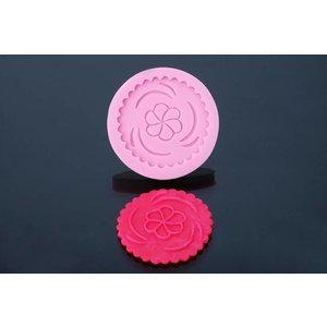 Siliconen Mal - Cupcake fantasie 7cm
