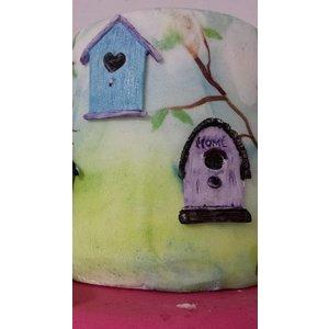 Silicone Mold - Birdhouses 11,5x4,5cm
