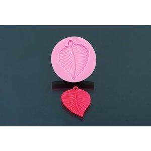 Silicone Mold - Leaf 4cm