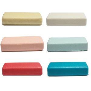 Marsepein - Blank, Wit, Pastel roze, Pastel blauw, Roze en Blauw 6x 250g