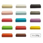Assorted color set marzipan