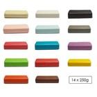 Compleet kleuren set marsepein
