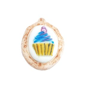 Silicone Mold - Fancy Cupcake 3,5cm