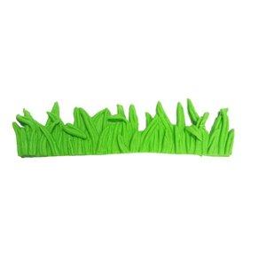 Silikonform - 3D Grass edge 12cm